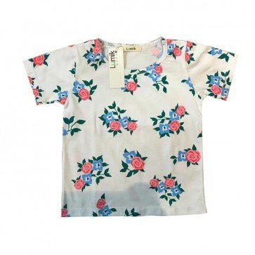 lumik-White Flower Tee Special Store-