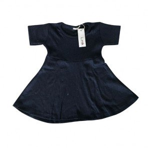lumik-Navy Simply Dress-