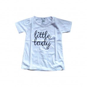 lumik-Lumik White Little Lady Tee Special Store-