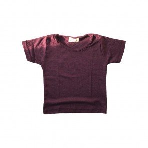 lumik-Burgundy Tee-