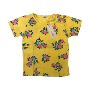 lumik-Yellow Flower Tee Special Store-
