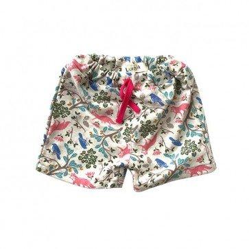 lumik-Pink Garden Short-