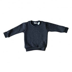lumik-Grey Stripes Sweater-
