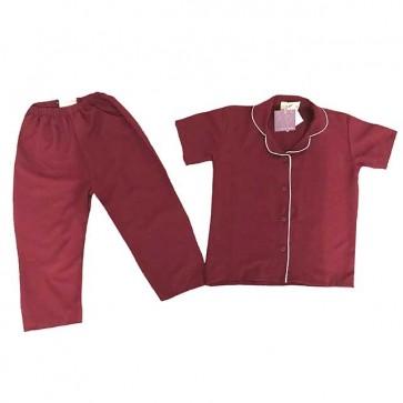 lumik-Pajamas Maroon-