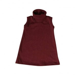 lumik-Maroon Turtleneck-