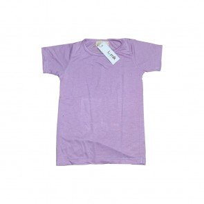 lumik-Lumik Light Purple Plain Tee-