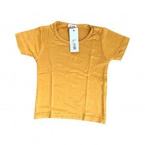 lumik-Lumik Mustard Plain Tee-
