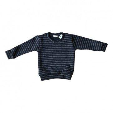lumik-Grey Stripes Sweater-