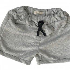lumik-Light Grey Short-