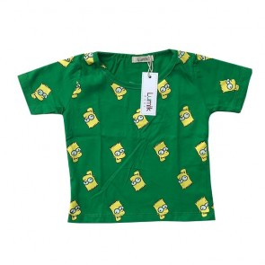 lumik-Green Simpsons Tee Special Store-