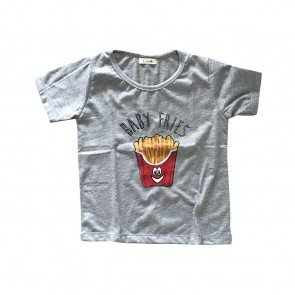 lumik-Lumik Grey Fries Tee Special Store-