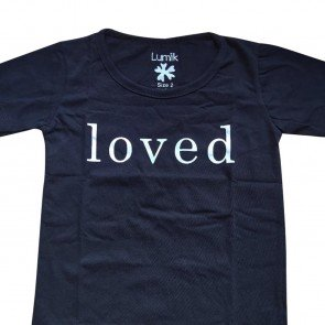 lumik-Lumik Black Loved Tee Special Store-