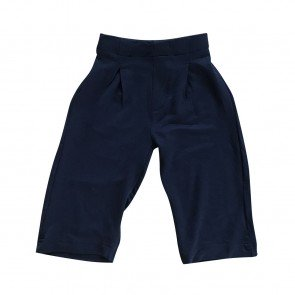 lumik-Lumik Navy Plain Kulot Pants-