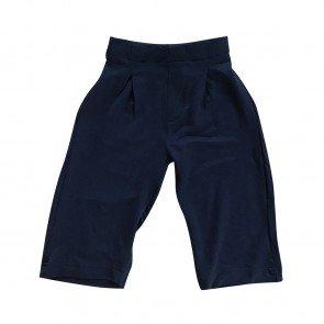lumik-Lumik Navy Plain Kulot Pants-