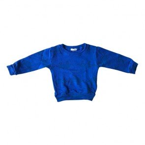 lumik-Blue Animal Sweater-