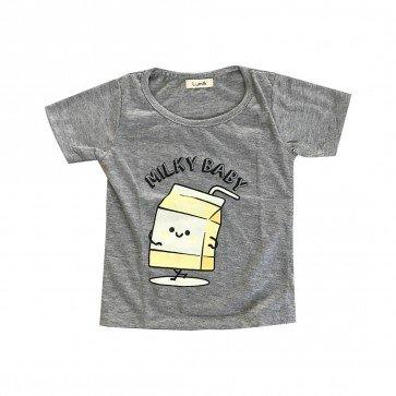 lumik-Lumik Grey Milky Tee Special Store-