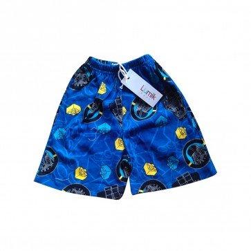 lumik-Lumik Blue Lego Short-