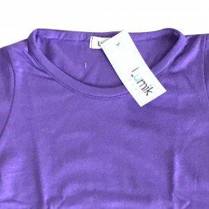 lumik-Lumik Purple Plain Longsleeve-