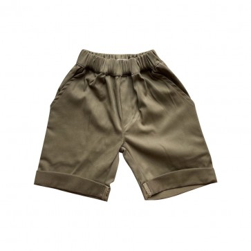lumik-Lumik Olive Green Chino Short-