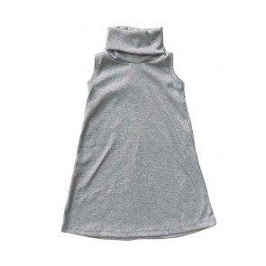 lumik-Grey Turtleneck-