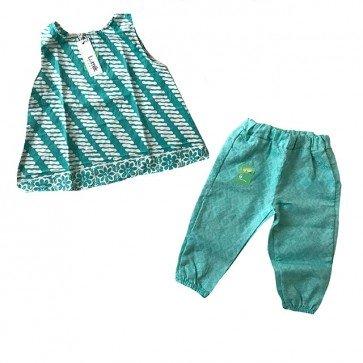 lumik-Fresh Green Batik Girl-