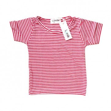 lumik-Red Stripes Tee-