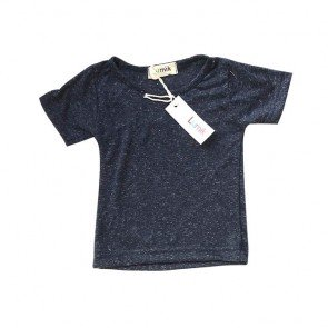 lumik-Navy Tiny Oreo Tee-