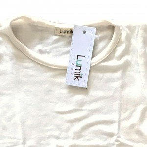lumik-Plain White Tee-