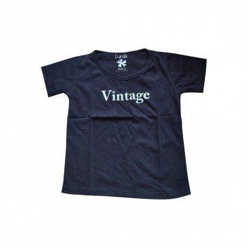 lumik-Lumik Black Vintage Tee Special Store-