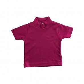 lumik-Lumik Fuschia Plain Turtleneck Tee -