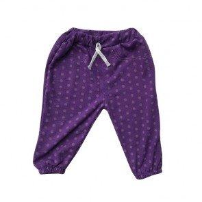 lumik-Purple Dot Jogger-