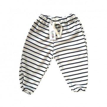 lumik-White Stripes Jogger-