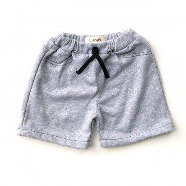 lumik-Plain Grey Short-