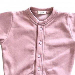lumik-Lumik Baby Pink Plain Cardigan-
