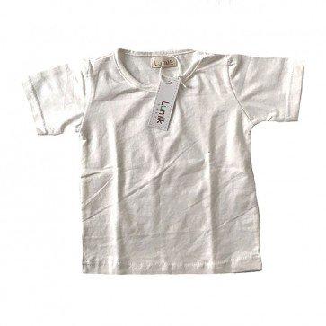 lumik-Plain White Tee-