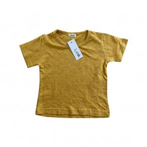 lumik-Lumik Yellow Plain Tee Basic-