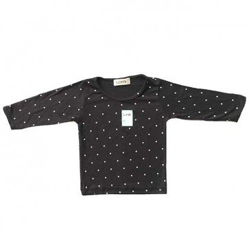 lumik-Black Polka Long Sleeves-