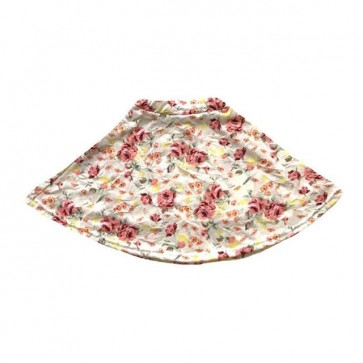 lumik-Pink Flowery Skirt -