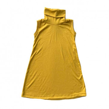 lumik-Yellow Mustard Turtleneck-