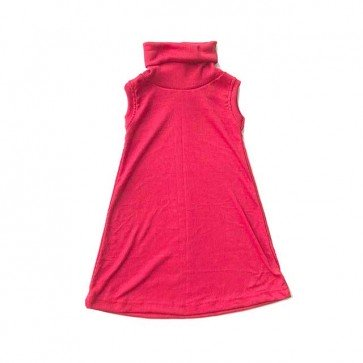 lumik-Red Turtleneck-