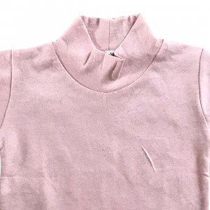 lumik-Lumik Peach Plain Turtleneck Tee -
