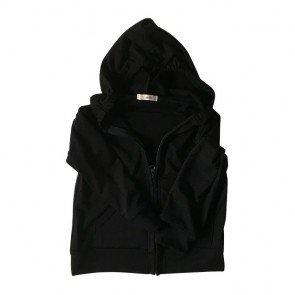 lumik-Black Hoodie-