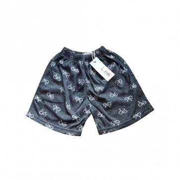 lumik-Lumik Grey Ribbon Short-