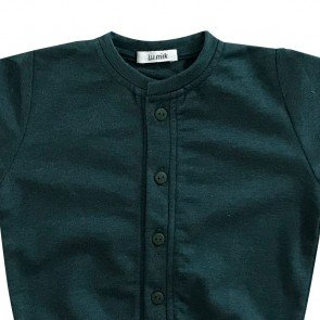 lumik-Lumik Army Plain Cardigan-
