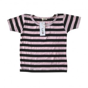 lumik-Blue White Stripes Tee-