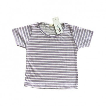 lumik-Purple Stripes Tee-