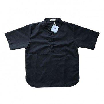 lumik-Short Sleeve Black Kokoh-