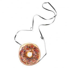 lumik-Chocolate Doughnut Sling Bag-