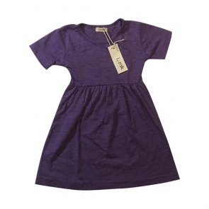 lumik-Purple Simply Dress-