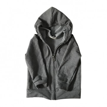 lumik-Light Grey Hoodie-